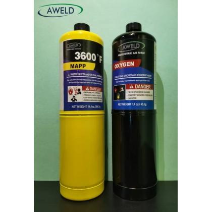 Aweld Disposable Oxygen & Mapp Gas