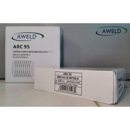 Aweld MIG WIRE ARC95 (0.8mm X 5KG)